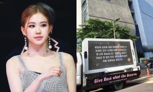 Fan của Rosé bị chỉ trích 'làm mất mặt idol' trước tòa nhà YG
