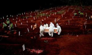 Cướp thi thể nạn nhân Covid-19 về chôn cất