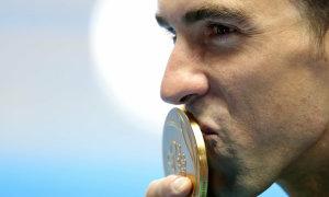 Michael Phelps được chọn là VĐV vĩ đại nhất thế kỷ 21