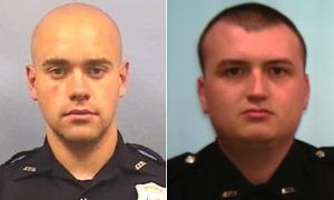Chân dung hai cảnh sát bắn chết thanh niên da màu