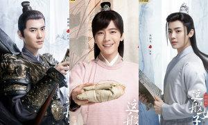 3 mỹ nam xoay quanh Quan Hiểu Đồng trong phim mới