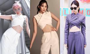 Tóc Tiên, Tiểu Vy mặc 'nhái' Jennie nhưng cool không kém