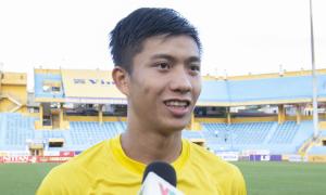 Phan Văn Đức: 'CLB Hà Nội vắng Đình Trọng, Duy Mạnh là lợi thế cho chúng tôi'