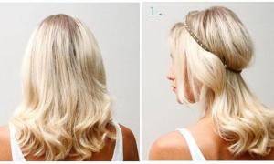 10 cách tạo kiểu tóc đẹp trong chưa đầy 3 phút