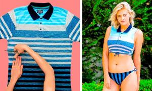 4 mẹo 'chữa cháy' khi đi biển nhưng quên bikini