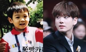 Ảnh thơ ấu chưa từng hé lộ của Jung Kook (BTS) gây 'bão'