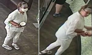 Truy tìm người phụ nữ cố tình ho vào mặt em bé một tuổi