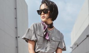 Học trò Thanh Hằng phối trang phục hè chất lừ dạo phố