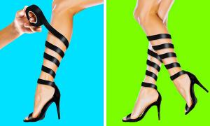 Mẹo biến tấu giày dép đơn giản thành đồ hot trend