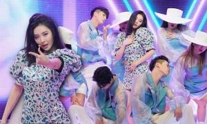 Sun Mi trình diễn 'Pporappippam' trong showcase comeback