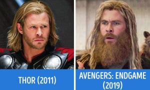 Dàn 'Avengers' thay đổi thế nào so với thời chập chững làm siêu anh hùng