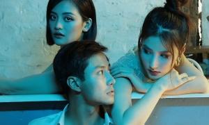 Diễm My 9x - Thùy Anh chụp ảnh 'tình tay ba' với Thanh Sơn