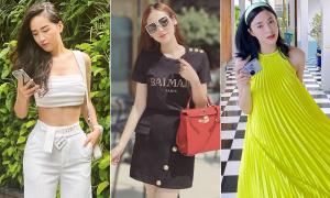 Street style mát mẻ khoe dáng của mỹ nhân Việt tuần qua