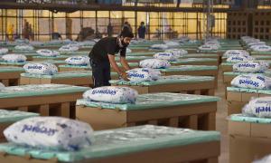 Bệnh viện giường carton chống Covid-19 lớn nhất thế giới