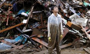 Trận tàn phá do lũ ở Nhật Bản