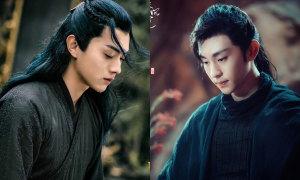 Hội 'mỹ nam áo đen' trong phim cổ trang Trung Quốc