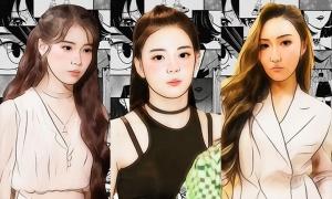 Nhận dạng nữ idol Kpop khi dùng app chỉnh ảnh (2)