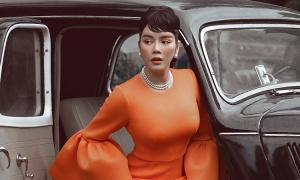 Lý Nhã Kỳ hóa thân Audrey Hepburn