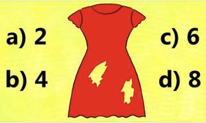 Có bao nhiêu lỗ trên váy?