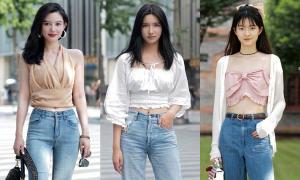 Ngắm street style con gái Trung Quốc, biết ngay mốt hot trên Taobao