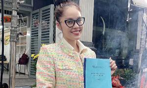 Dương Cẩm Lynh đóng tiểu thư sang chảnh trong phim mới