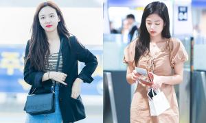 5 kiểu đồ sân bay yêu thích của các idol nổi tiếng mặc đẹp