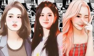 Nhận dạng nữ idol Kpop khi dùng app chỉnh ảnh (3)