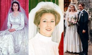 Lịch sử lấp lánh của chiếc vương miện gia truyền Nữ hoàng cho cháu gái 'mượn'