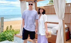 Heo Mi Nhon - Kiên Hoàng 7 năm vẫn diện đồ đôi 'xịn xò'