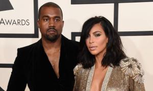 Kanye West chui xuống hầm 'trốn' Kim Kardashian
