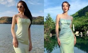 Chi Pu lăng xê mẫu váy áo đỉnh nhất cho nàng 'ngực lép'