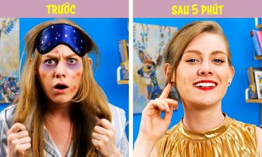 6 mẹo makeup nhanh chóng và đơn giản