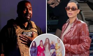 Kanye West dọa tung bí mật nhà Kardashian