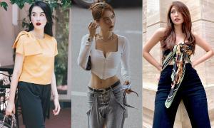 Street style khoe dáng 'giải nhiệt' ngày hè của mỹ nhân Việt