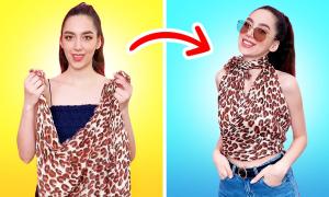 Biến hóa như fashionista chính hiệu với khăn áo sexy (2)