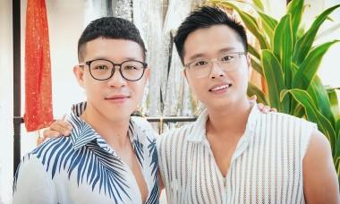 Mối tình đồng giới 8 năm của NTK Nguyễn Minh Tuấn