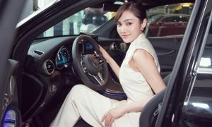 Lưu Hiền Trinh tậu xế hộp hơn 2,5 tỷ đồng