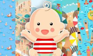 'Mắt cú vọ' tìm em bé đang chơi ở đâu?