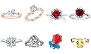 Đâu là chiếc nhẫn có giá đắt hơn?
