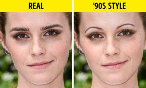 Sao Hollywood thử kiểu lông mày mảnh thập niên 90