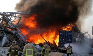Thế giới đau buồn vì vụ nổ thảm khốc ở Lebanon