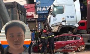 Tạm giữ hình sự tài xế gây tai nạn khiến 3 người chết