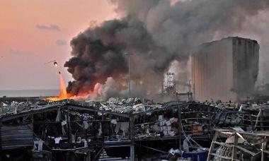 Nổ thảm khốc ở Lebanon