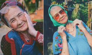 Bà ngoại 81 tuổi cực 'ngầu' qua ống kính của cháu gái