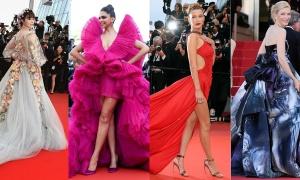 Những 'nữ hoàng thời trang' của thảm đỏ Cannes