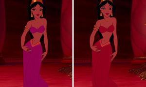 5s đi tìm công chúa Disney 'bản auth'