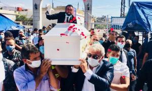 Đám cưới của 'cô dâu đã chết' trong thảm họa Beirut