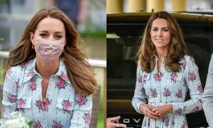 Bí quyết đeo khẩu trang vẫn xinh rạng rỡ của Công nương Kate
