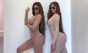 Sở thích diện đồ đôi khoe vòng ba của Kylie Jenner và bạn thân
