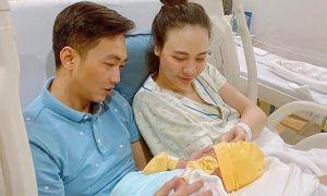 Đàm Thu Trang lộ diện sau khi sinh con đầu lòng
